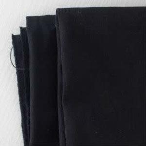 Mind the Maker - Washed Canvas Twill - Zwart