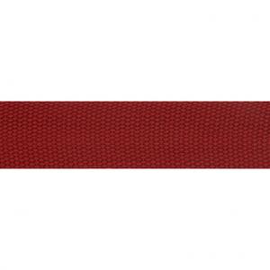 Tassenband wijnrood 30 mm