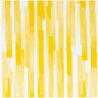 Rico Design - Yellow stripes - canvas