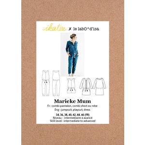 Ikatee - Marieke Jumpsuit, playsuit & dress (women) - Patroon