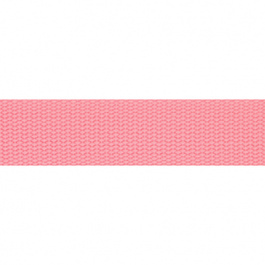 Tassenband roze 30 mm