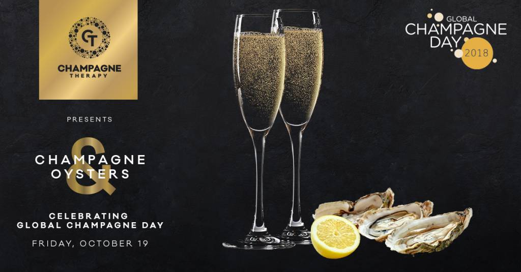 Global Champagne Day 2018: Champagner, Austern & Musik