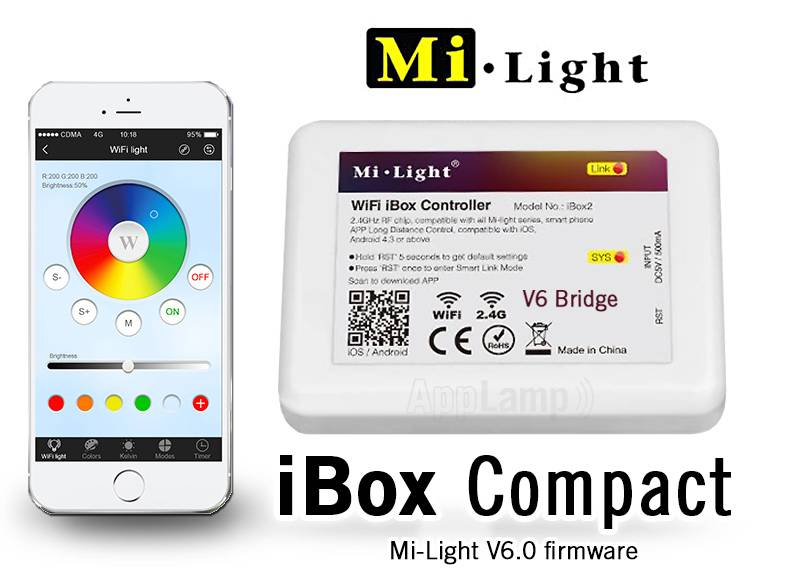 AppLamp Wifi iBox with APP for AppLamp lighting. Newest V6.0 version!