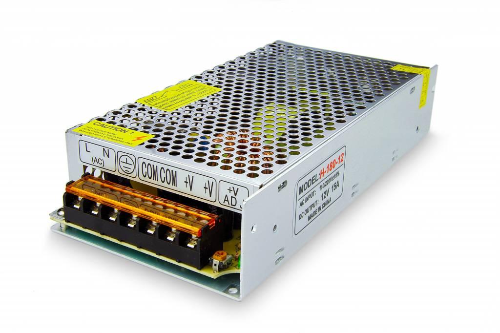 Power supply 12V DC - 180W - 15A