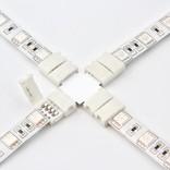 RGB LED strip X-connector