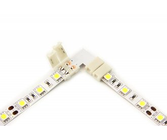 L-Connector 90°degrees corner connector for white LED strip