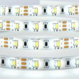 Dual White LED strip 600 LEDs Variable color temperature 72W 12V