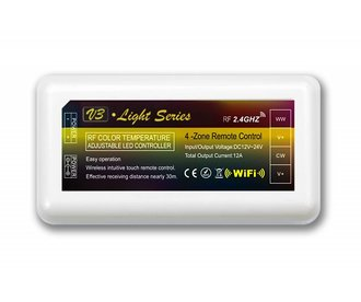 Dual White LED strip controller 12A, 12V-24V