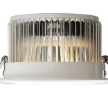 Six 12 Watt LED RGBW Downlights, Full Color RGB and 2700K Warm White