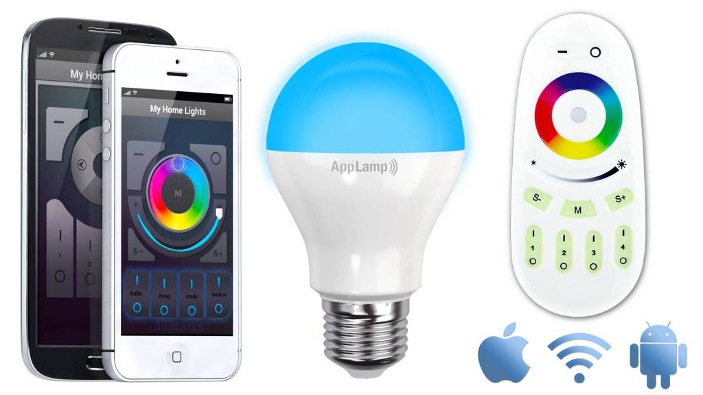 KitFull Applamp Rgbw Color Bulb Watt 6 Wifi Led IWDH2eE9Y