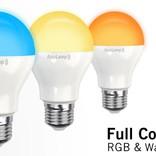 AppLamp Wifi LED Bulb 6W RGBW Full Color + Warm White 3000K
