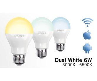 -20% Week Offer! Dual White Wifi LED bulb (6W LED)