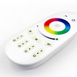 AppLamp Set of 6 RGBW 6 Watt E27 LED light bulbs + remote control