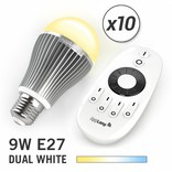 AppLamp AppLamp Set with 10 Dual White LED bulbs + Remote control