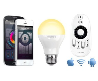 AppLamp Wifi kit + 6W Dual White LED bulb
