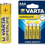 Batteries 1,5Volt AAA, 4pcs for use in AppLamp remote controls