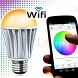 LED Magical Wifi LED bulb 16M colors and warm white, wake-up light (V2)