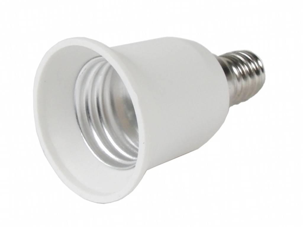 E14 to E27 socket adapter