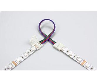 Flexibel connector for RGB LED strips, 15cm