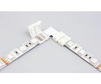 RGB LED strip 90° angle connector