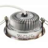 AppLamp AppLamp AppLamp 12 Watt MultiColor LED RGBW Chrome Recessed Downlight with 230V driver ** NEW **