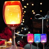 Decorative Multicolor LED ambient light USB rechargeable, RF, Wi-Fi