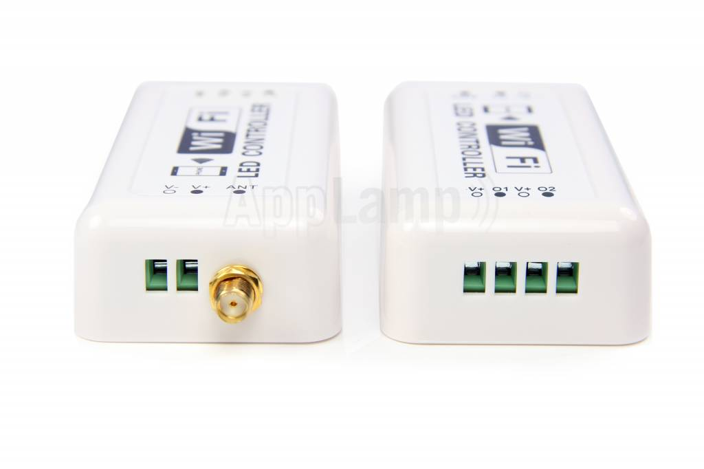 LED Magical Wi-Fi singlecolour LED controller. Operated with App on smartphone or tablet.