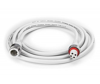 RGB waterproof extension cable 2 m, 4-pin, IP68