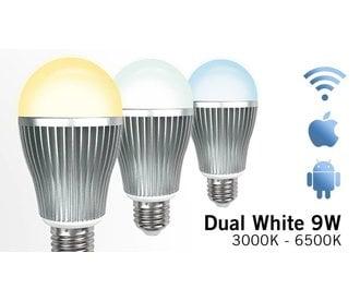 AppLamp Dual White Wifi LED bulb 9Watt