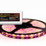 RGBW LED strip 360 LED's, controllable via Wifi & RF remote (Add-on)