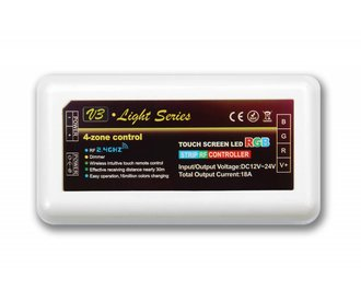 AppLamp RGB LED strip controller 3x6A, RF wireless control, without accessories