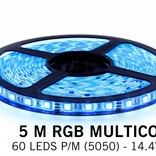 AppLamp RGB LED strip with Wireless RF remote (5m, incl. controller / adapter)