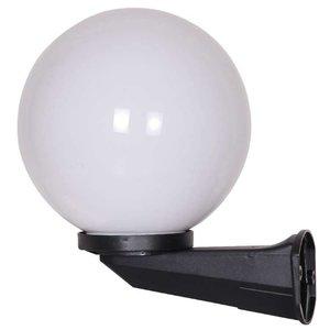 Bol wandlamp wit 25∅