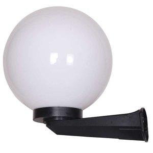Bol wandlamp wit 35∅