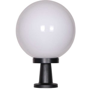 Bol staande lamp wit 35∅