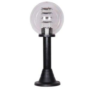 Bol staande lamp helder 25∅ + raster