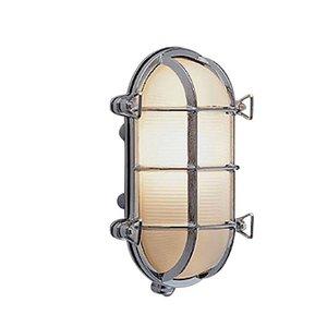 Bullseye wandlamp chroom 17.5cm
