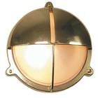 Scheeplamp Bullseye wandlamp Messing 22.6 cm