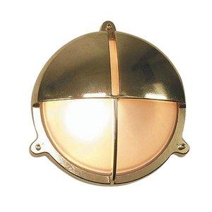 Bullseye wandlamp messing Scheepslamp 22.6cm