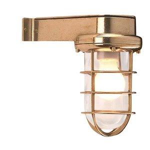 Bulls eye Scheepslamp wandlamp messing 22cm
