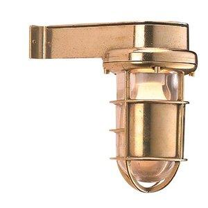 Bulls eye Wandlamp Scheepslamp messing 22cm