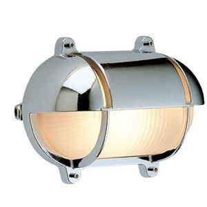 Wandlamp Bullseye scheepslamp chroom 24,5cm