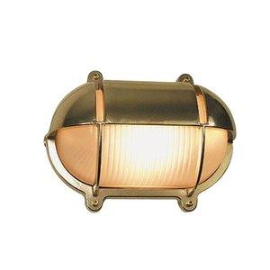 Scheepslamp Bullseye wandlamp messing 18.2cm