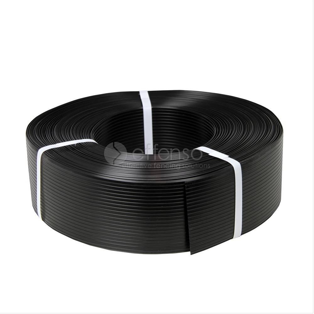 fensoband FENSOBAND H:95 mm L: 50m BLACK 9005