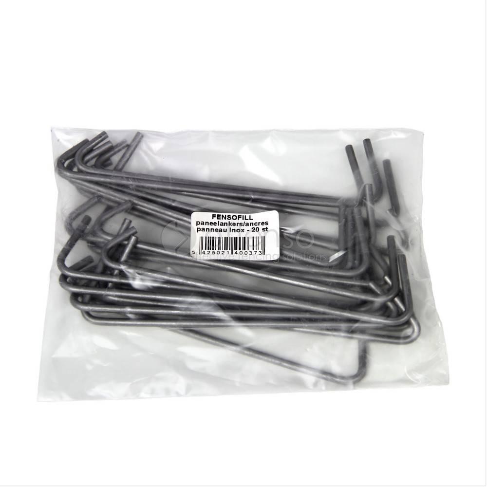 fensofill FENSOFILL Ancres amovibles inox - 20 pcs