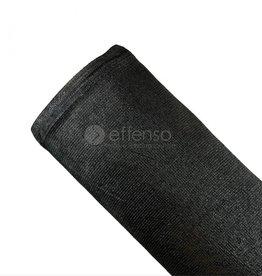 fensonet FENSONET 300gr ZWART 150cm per m