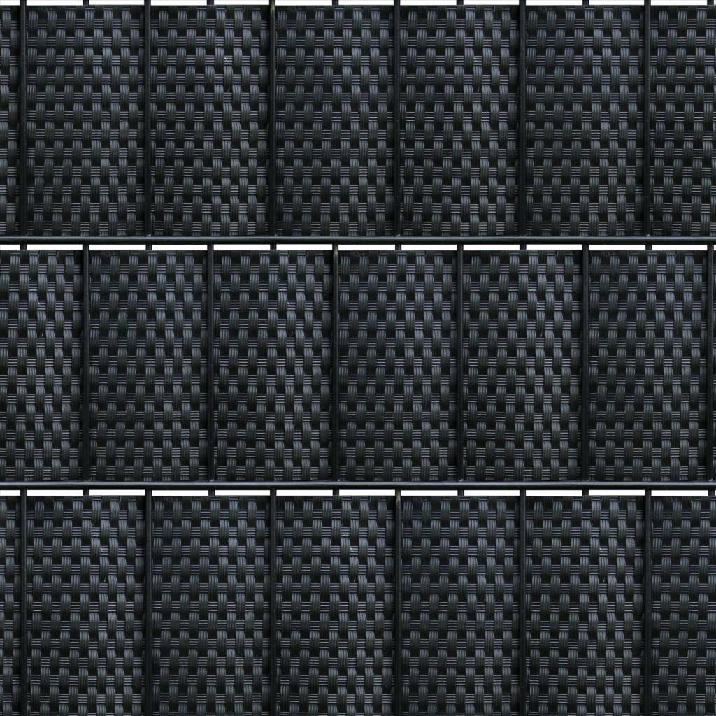 fensoband FENSOBAND  WICKER H:190 mm noir
