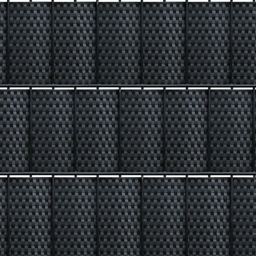 fensoband FENSOBAND WICKER H:190 mm schwarz