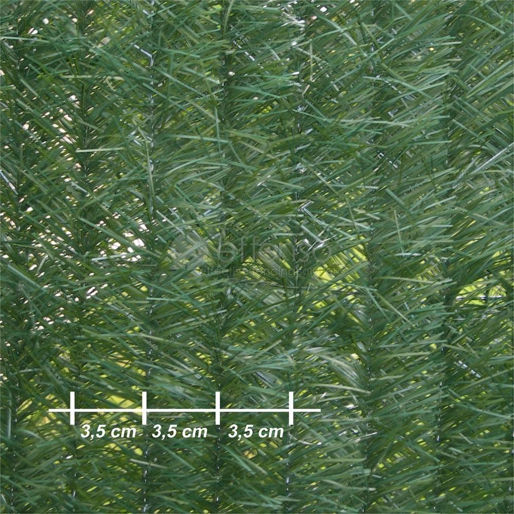 Fensogreen FENSOGREEN Künstliche Hecke L:3m H:180cm