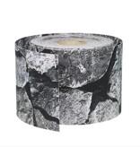 fensoband soft Fensoband SOFT 190 mm PRINT PES Quarry stone 26m